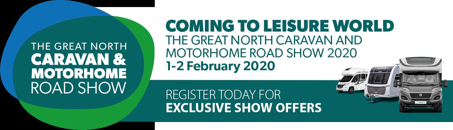 The Great North Caravan & Motorhome Show 2020
