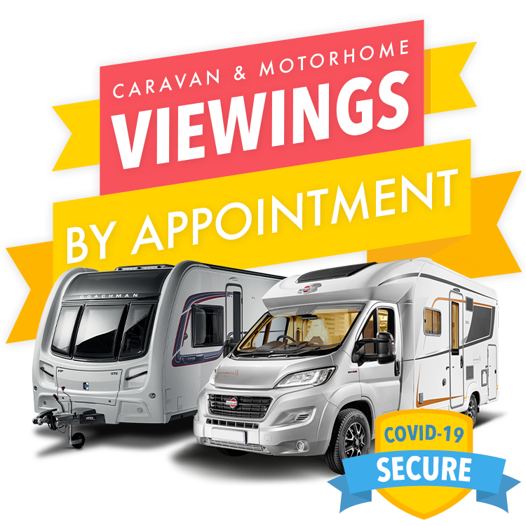 Caravan and Motorhome Viewings by Appointment - COVID-19 Secure