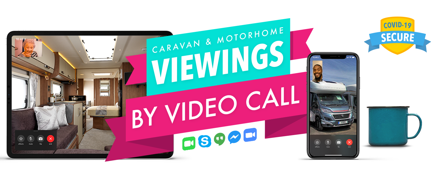 Caravan and Motorhome Viewings by Video Call - COVID-19 Secure
