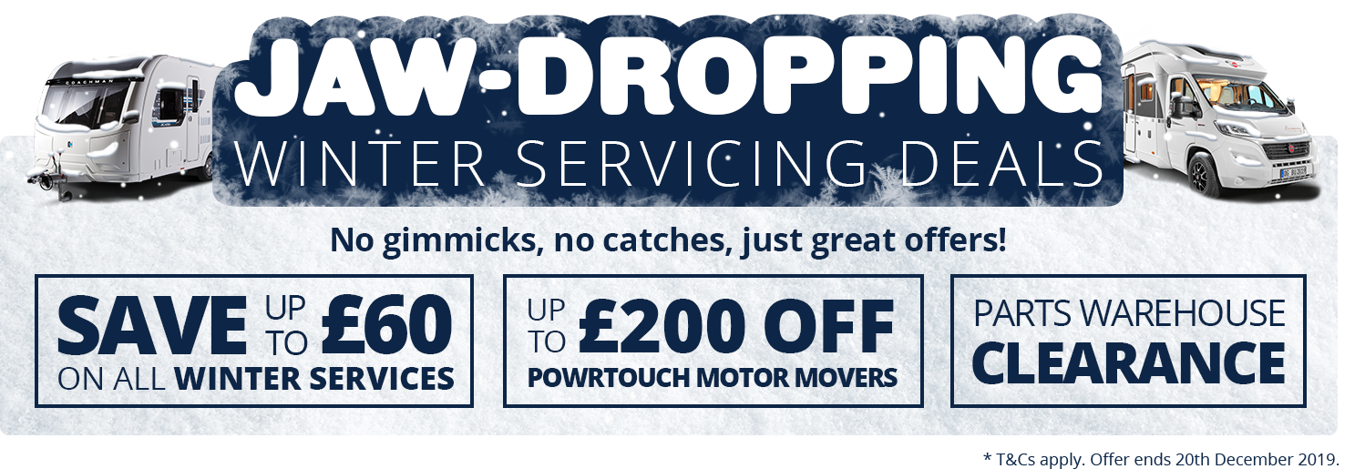 Jaw Dropping Winter Servicing Deals